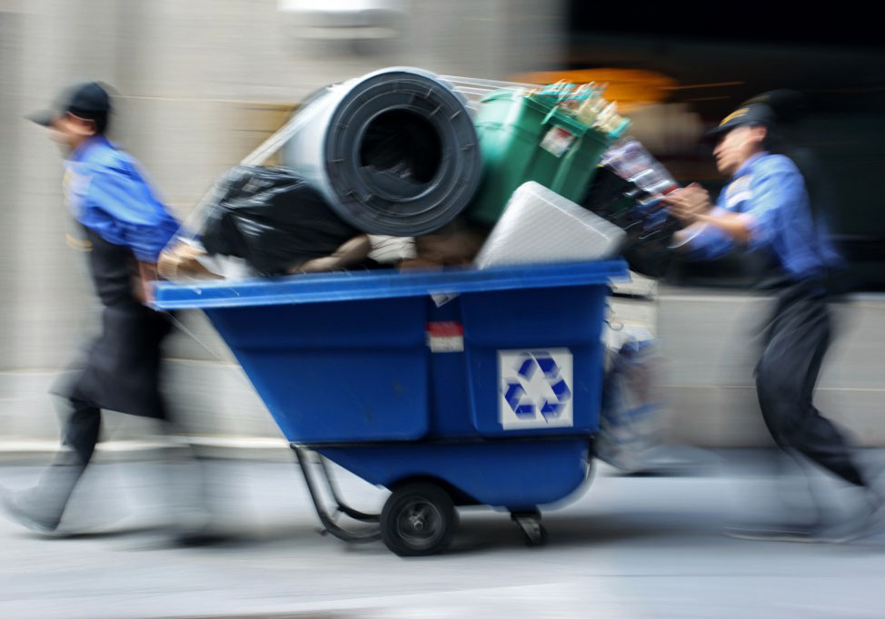 Изхвърляне на отпадъци